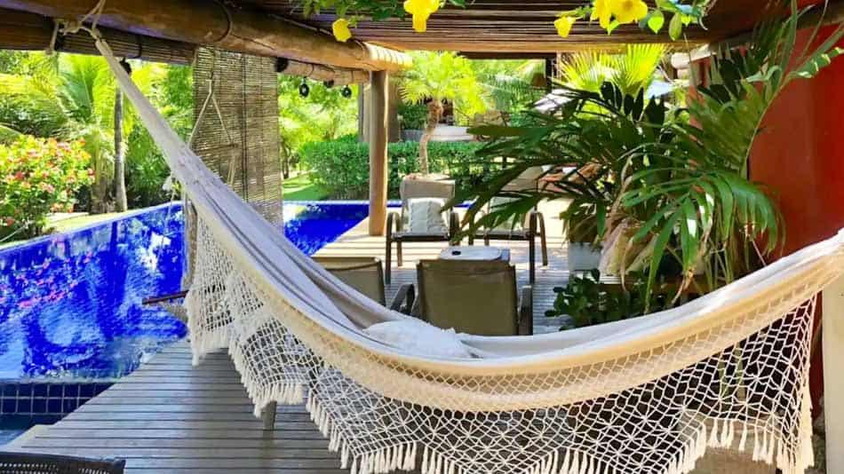 Casa com estilo para aluguel no Airbnb na Costa do Sauípe