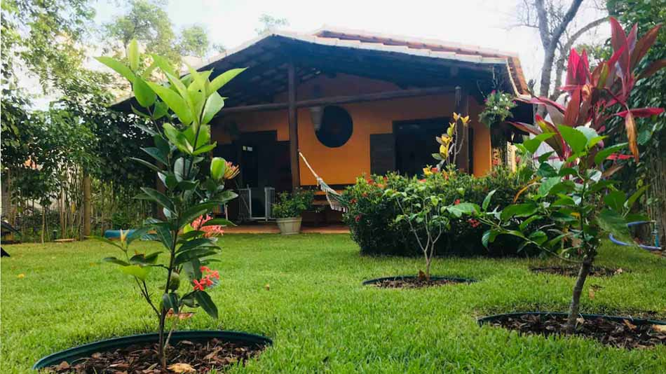 Casa rústica para aluguel no Airbnb em Massarandupió