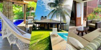 As melhores casas para alugar no Airbnb no litoral norte da Bahia