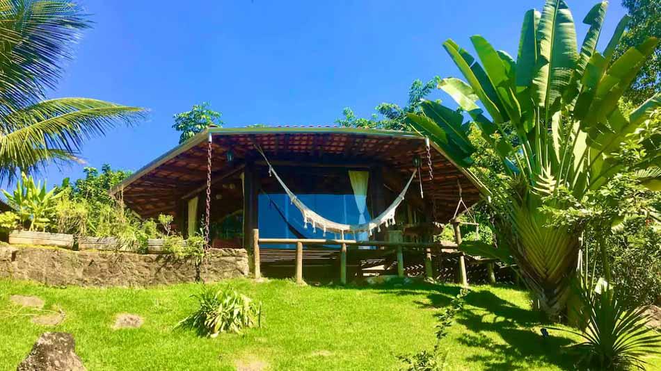 Bangalô de vidro para alugar no Airbnb em Paraty