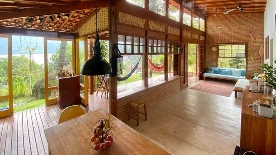 Casa para alugar no Airbnb em Paraty na Ilha do Araújo