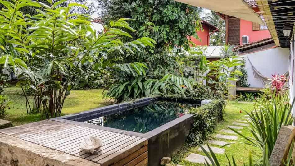 Casa charmosa para alugar no Airbnb em Paraty