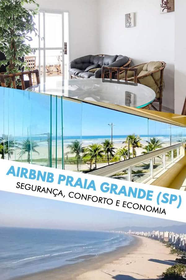 Confira essa lista com mais de 25 apartamentos para alugar no Airbnb na Praia Grande, um dos destinos mais procurados do litoral sul de SP!