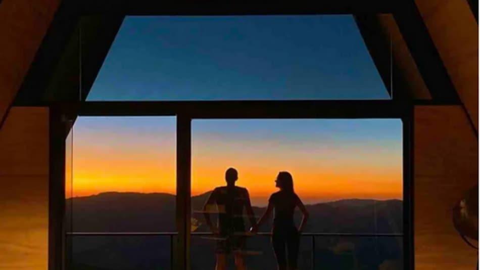 Cabana para alugar no Airbnb