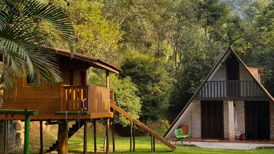 Refúgio verde para aluguel no Airbnb