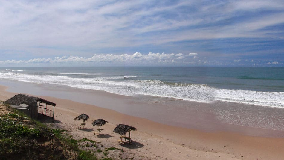 Melhores praias do litoral norte da Bahia: Massarandupió