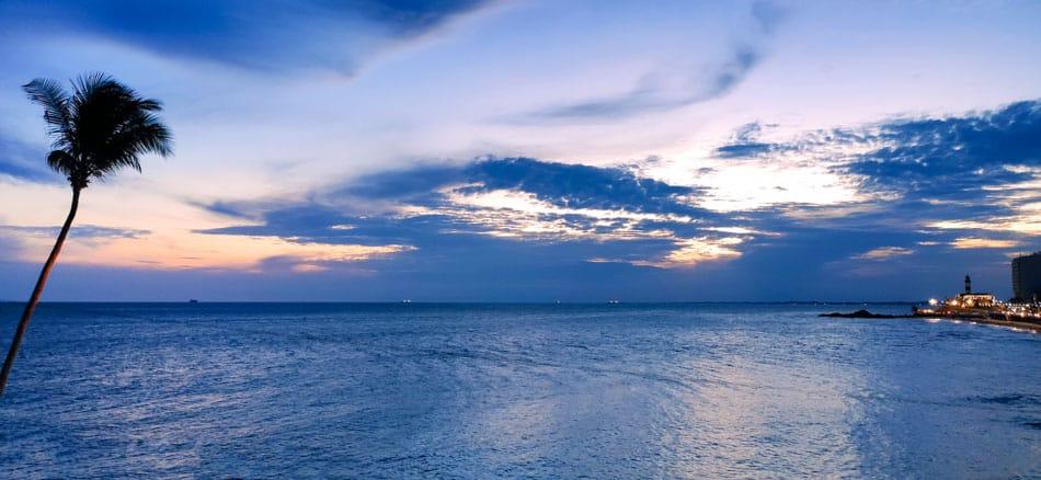 Pôr do Sol em Salvador do Morro do Cristo
