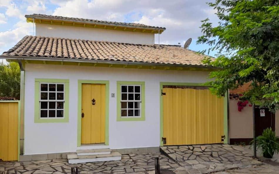 Casa para alugar em Pirenópolis no Centro HIstórico da cidade