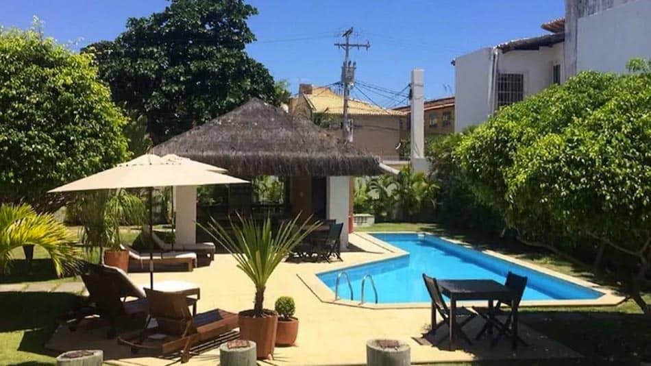 Casa para alugar em Salvador com piscina e na praia