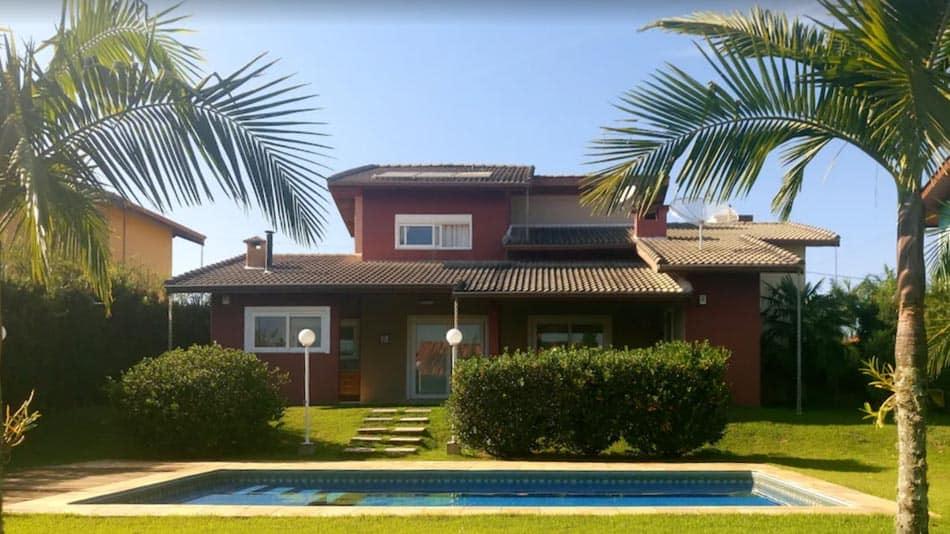 Casa para alugar perto de SP em Atibaia