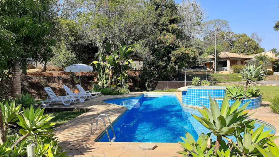 Alugar casa perto de SP com piscina