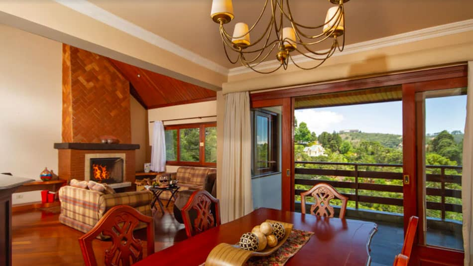 Apartamento de luxo para alugar em Campos do Jordão