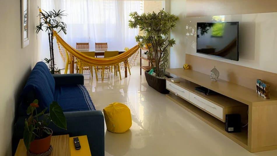 Apartamento para alugar em Salvador perto da praia