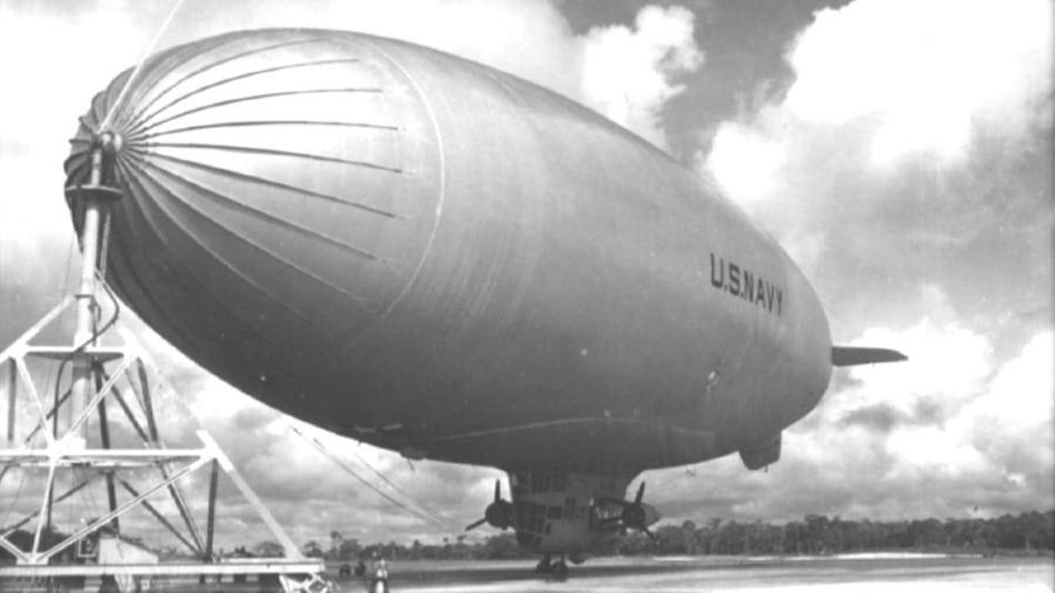 A base aérea do Amapá era usada como atracadouro de Zepelins