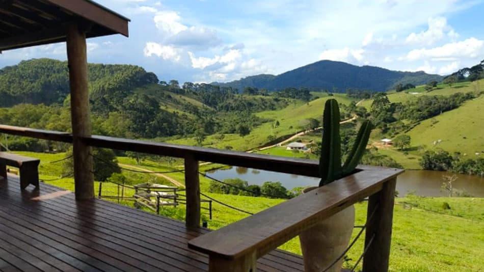 Casa para alugar em Gonçalves com vista
