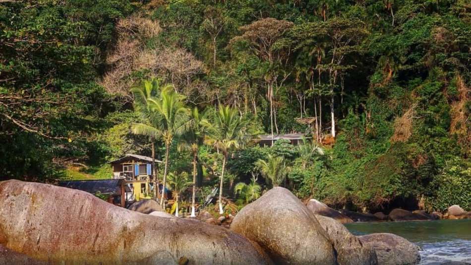 Casa para alugar na Ilhabela