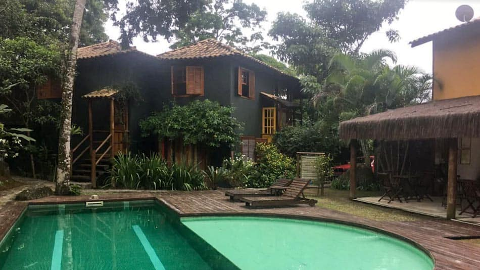Casa para alugar em Ilhabela na Praia do Curral