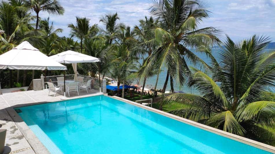 Casa para alugar na Praia da Feticeira, em Ilhabela