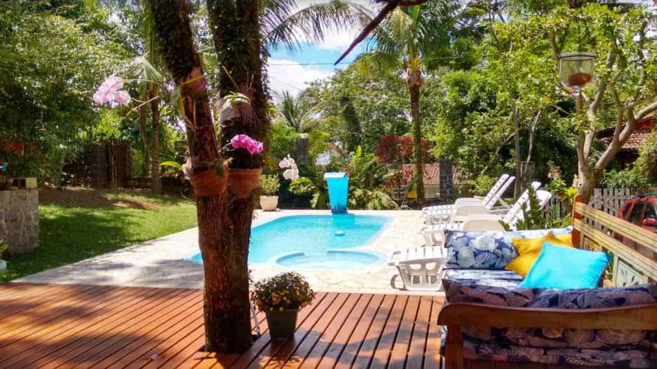 Casa para alugar em Ilhabela com piscina