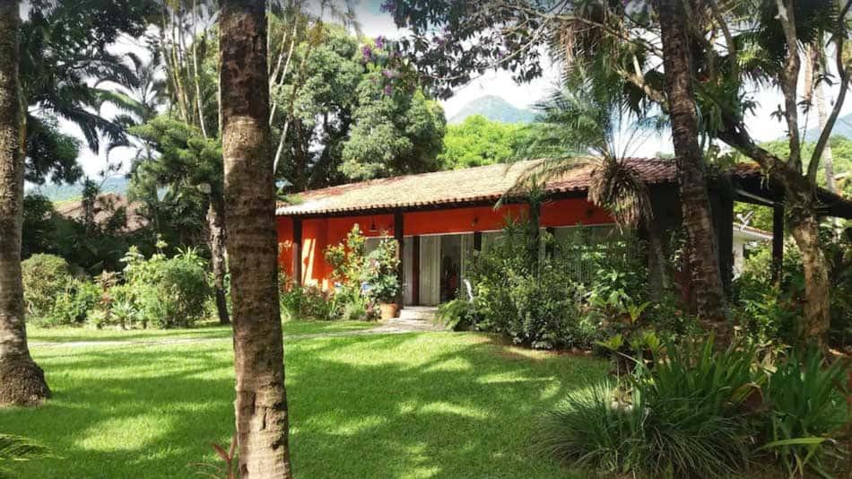 Casa para alugar em Ilhabela no Perequê