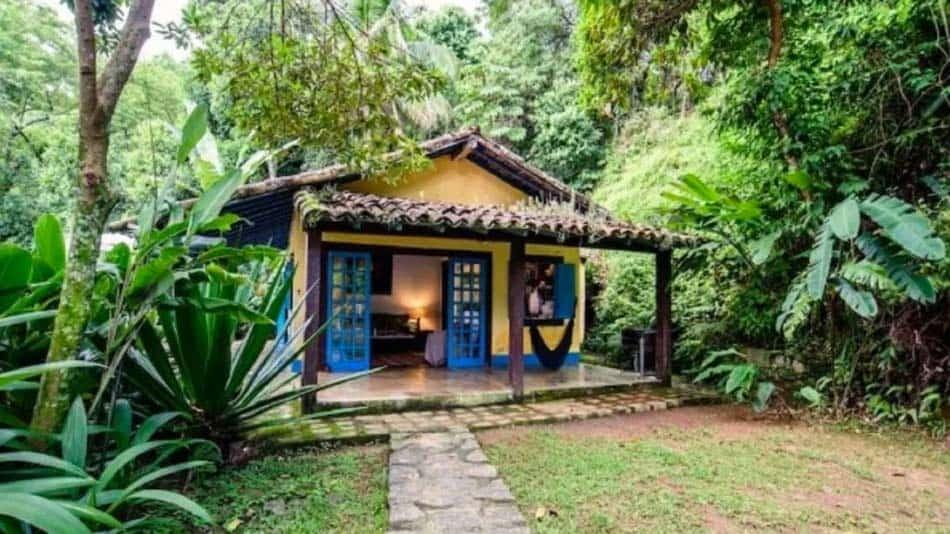Casa para alugar em Ilhabela em sítio na Costeira