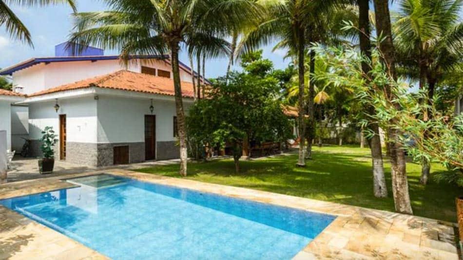 Casa para alugar em Juquehy perto de praia