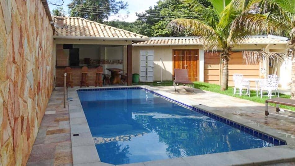 Casa para alugar em Pirenópolis com lazer completo