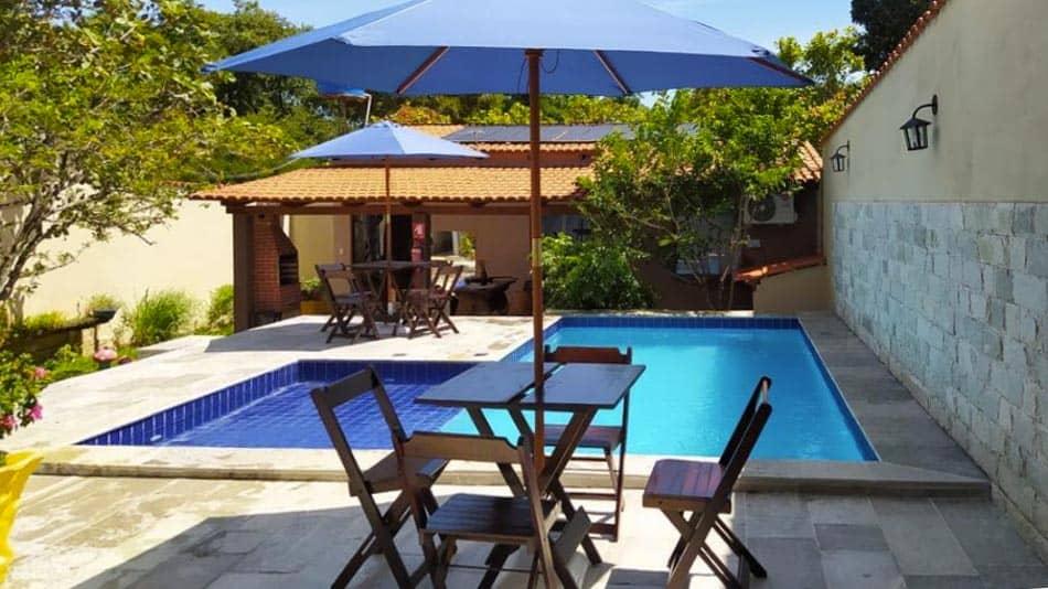 Casa com piscina para alugar em Pirenópolis perto do centro da cidade
