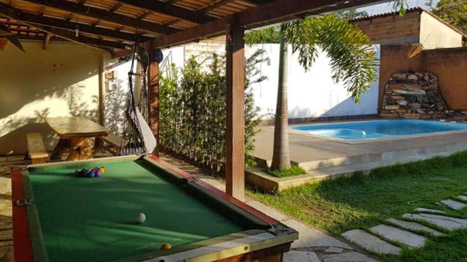 Casa com piscina para alugar em Pirenópolis