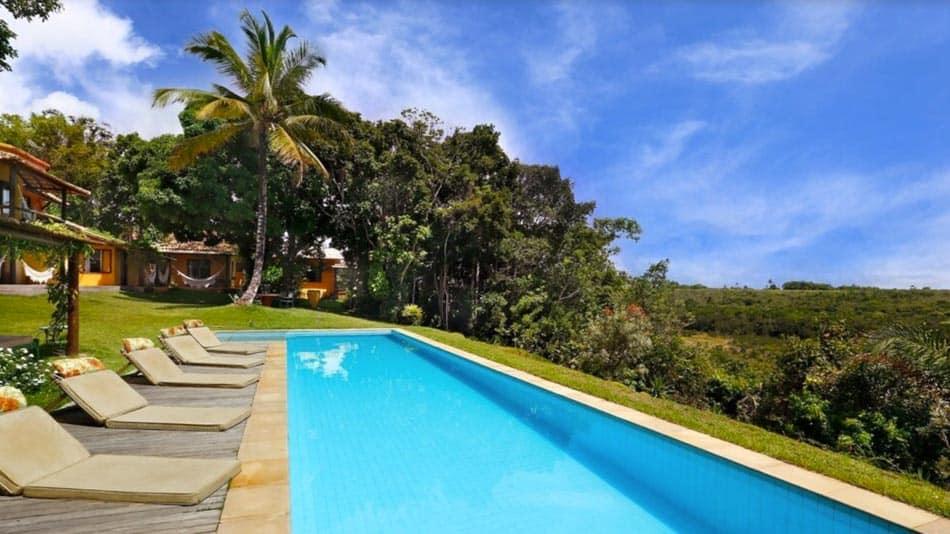 Bela casa para alugar em Trancoso com piscina