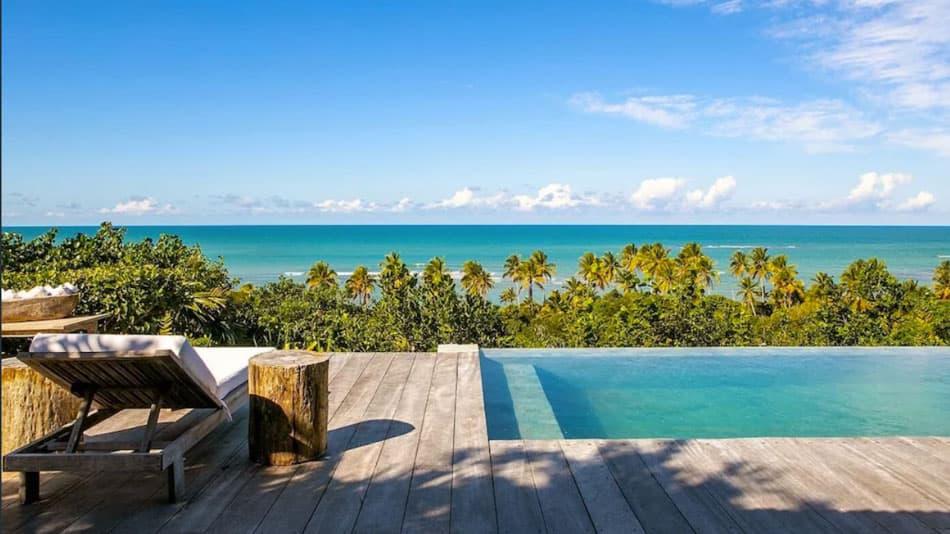 Casa para alugar em Trancoso com vista para o mar
