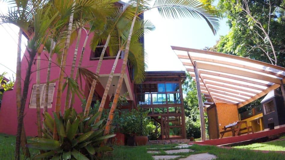 Casa para alugar no litoral norte de SP em Boraceia