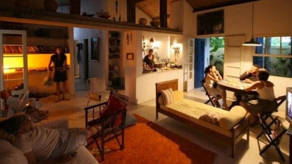 Casa para alugar no litoral norte de SP em Paúba pé na areia