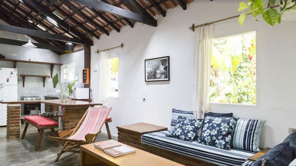 Casa para alugar no litoral norte de SP em Picinguaba
