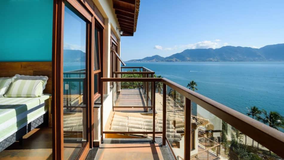 Casa para alugar no litoral norte de SP em Ilhabela