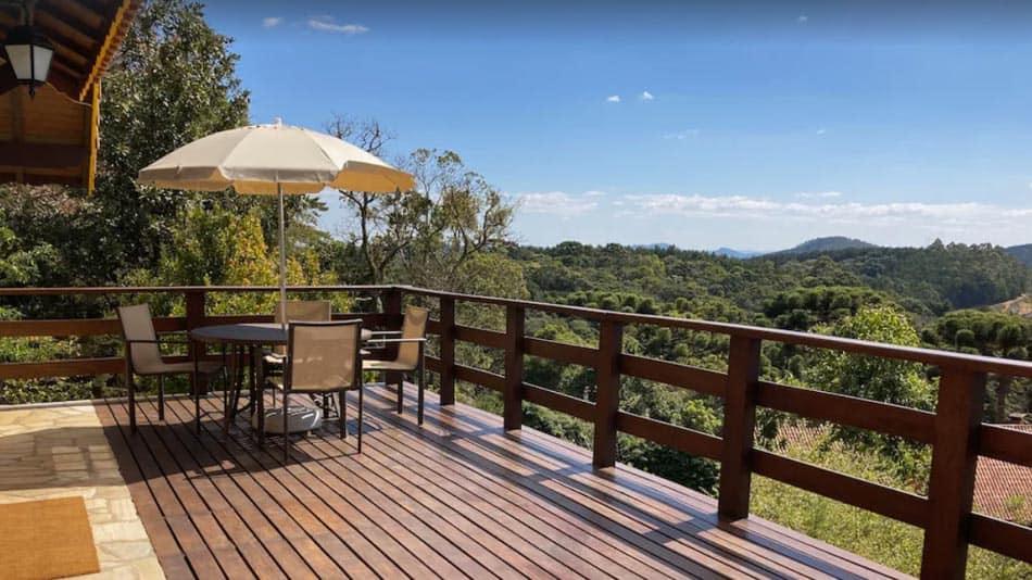 Casa para alugar em Monte Verde com vista