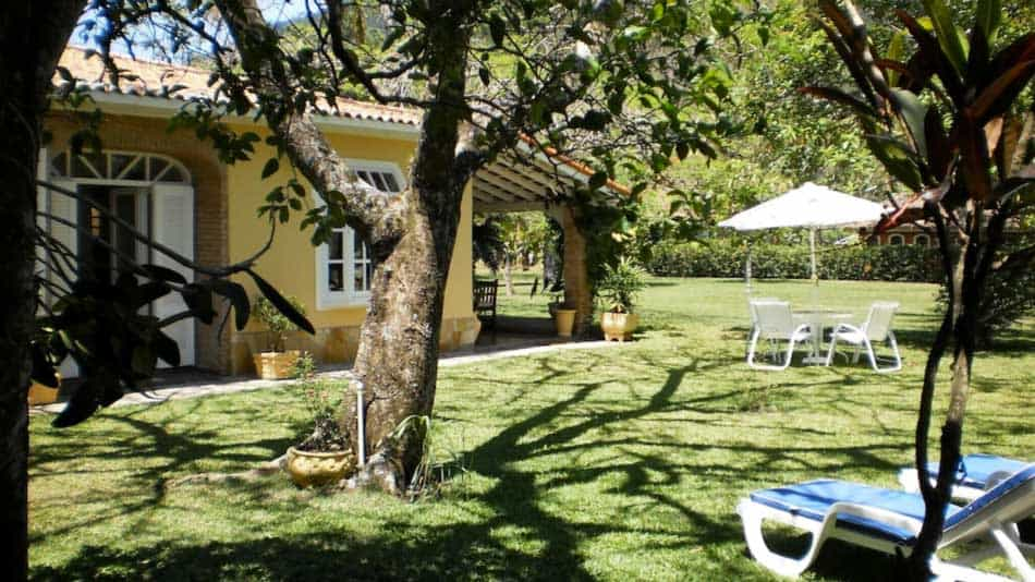 Bela casa para alugar no litoral norte de SP em Guaeca