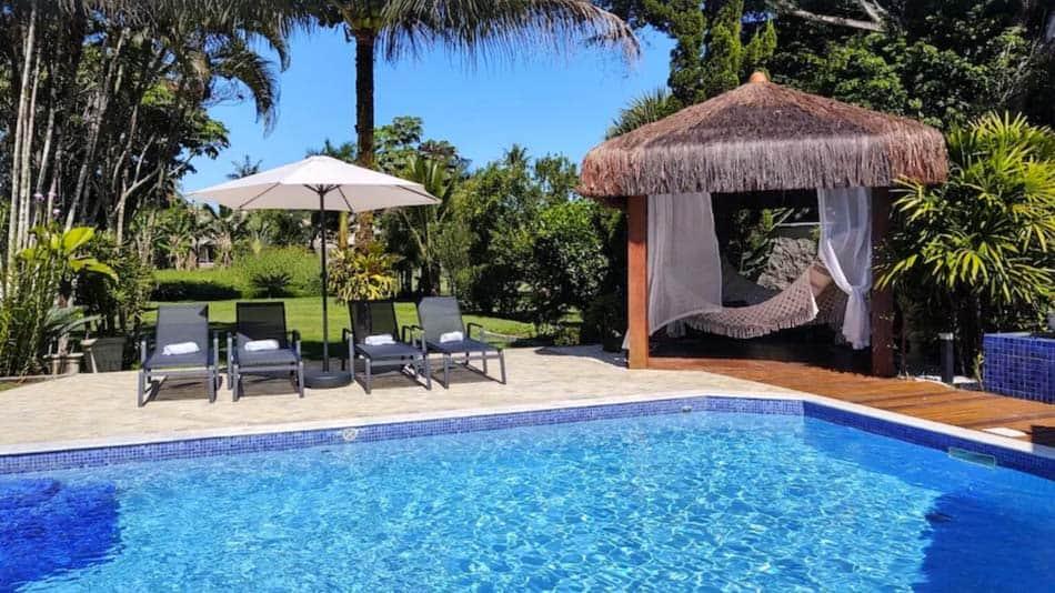 Casa de luxo para alugar no litoral norte de SP em Caraguatatuba