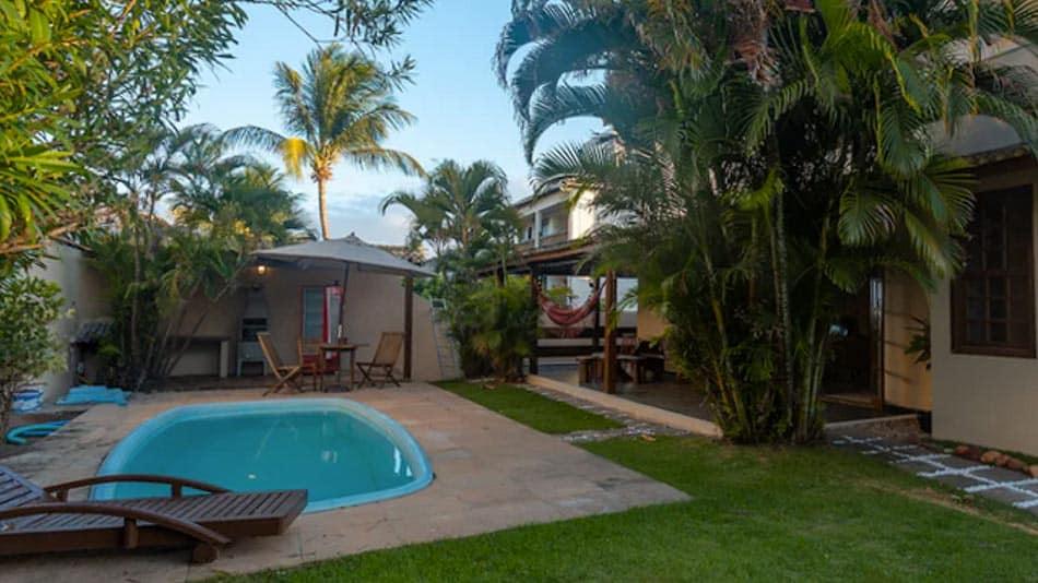Casa perto da praia para alugar em Salvador