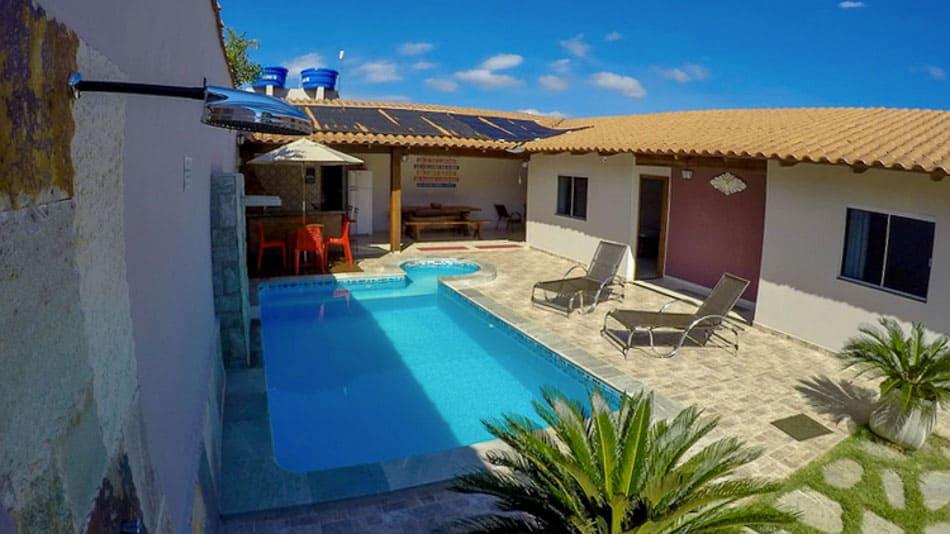 Casa para alugar em Pirenópolis com piscina