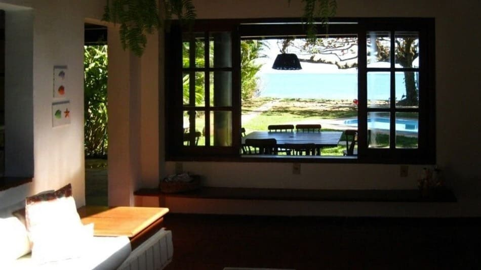 Casa em frente ao mar para alugar em Toque Toque Grande