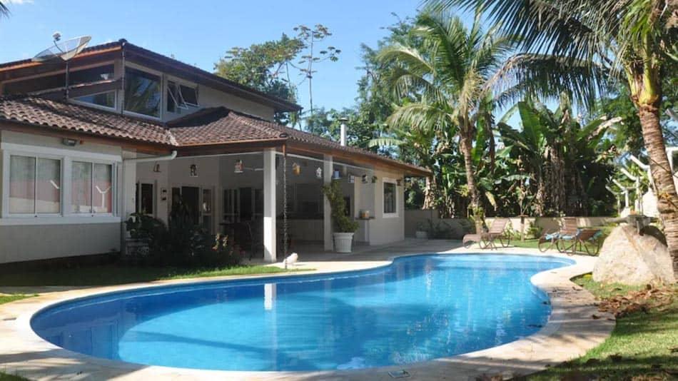 Casa para alugar no litoral norte de SP, em Ubatuba