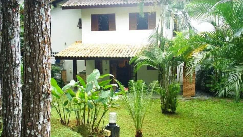 Casa para alugar no litoral norte de SP em Boiçucanga, de frente para o mar