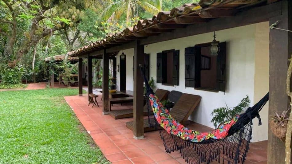 Casa para alugar no litoral norte de SP na praia do Cabelo Gordo