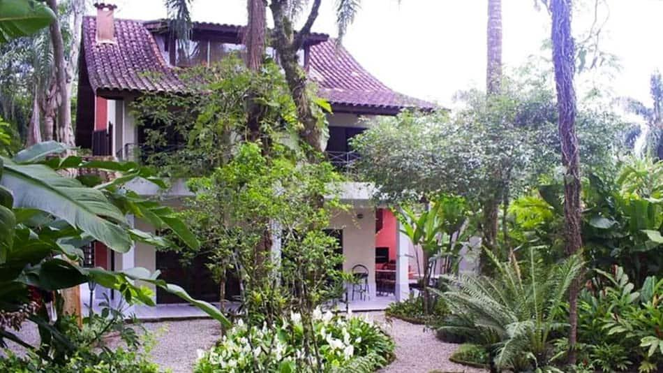 Casa para alugar no litoral norte de SP em Camburyzinho