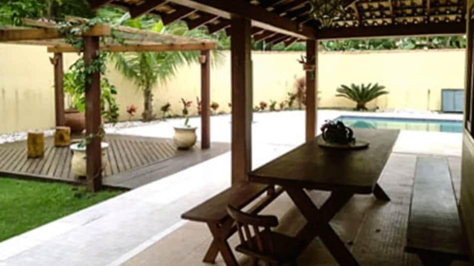 Casa para alugar no litoral norte de SP na praia de Paúba