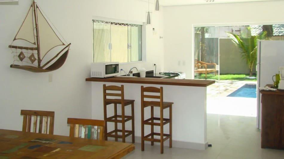 Casa para alugar no litoral norte de SP em Maresias com piscina