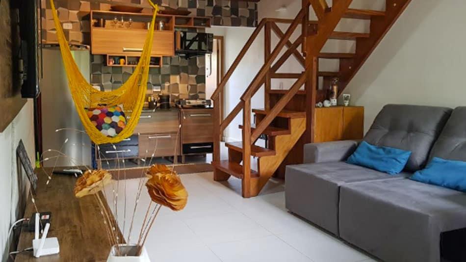 Flat para alugar em condomínio em Juquehy
