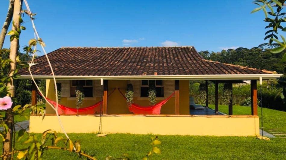 Casa para alugar em Santo Antônio do Pinhal, na Serra da Mantiqueira