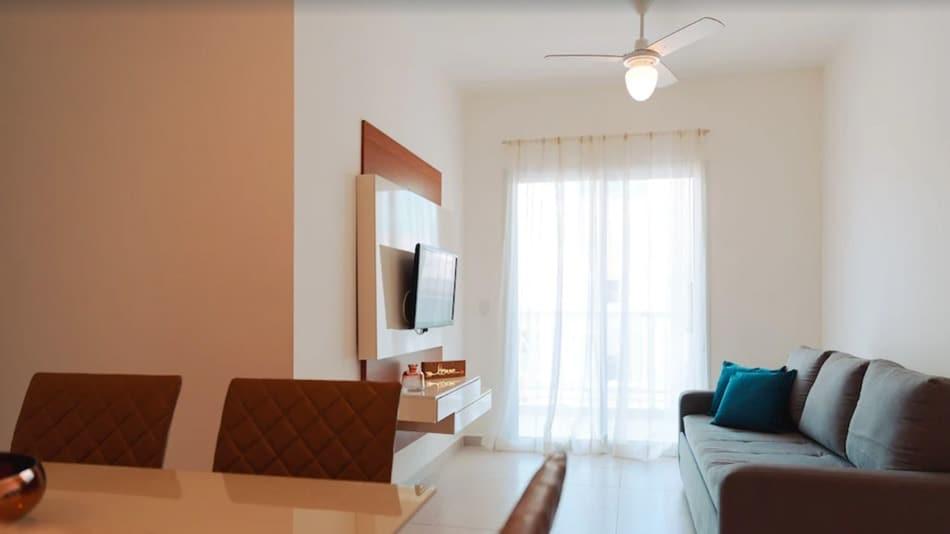Apartamento para alugar em Ubatuba na Praia Grande